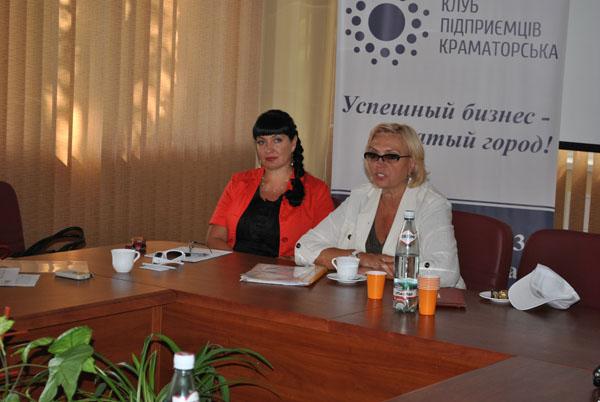 Александра Кужель в Краматорске