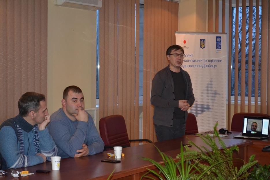 Зустріч підприємців Краматорська з Володимиром Дубровським і Едуардом Курганським, фото 3