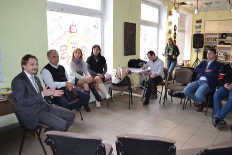 Зустріч членів Клубу із магістрантами Школи Управління УКУ, фото 1