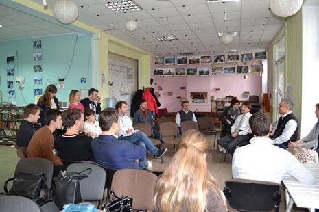 Зустріч членів Клубу із магістрантами Школи Управління УКУ, фото 2