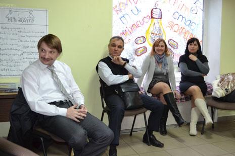 Зустріч членів Клубу із магістрантами Школи Управління УКУ, фото 3