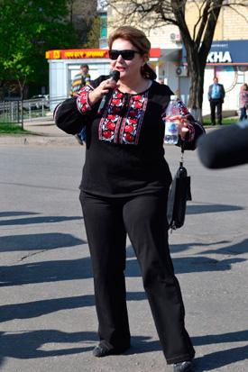 Хода мирных людей у Краматорську, фото 3