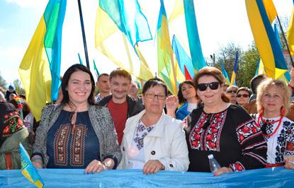 Хода мирных людей у Краматорську, фото 5