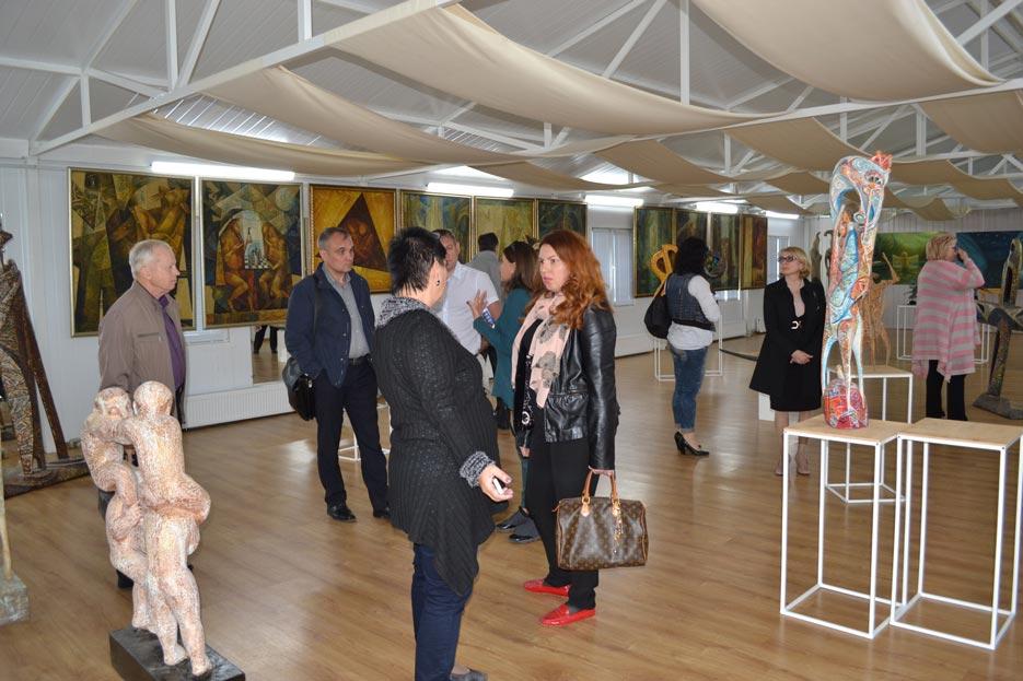 Художня виставка на Донмет в Краматорську, фото 1