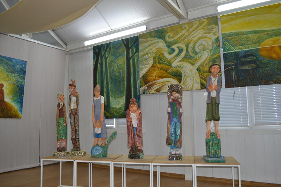 Художня виставка на Донмет в Краматорську, фото 2