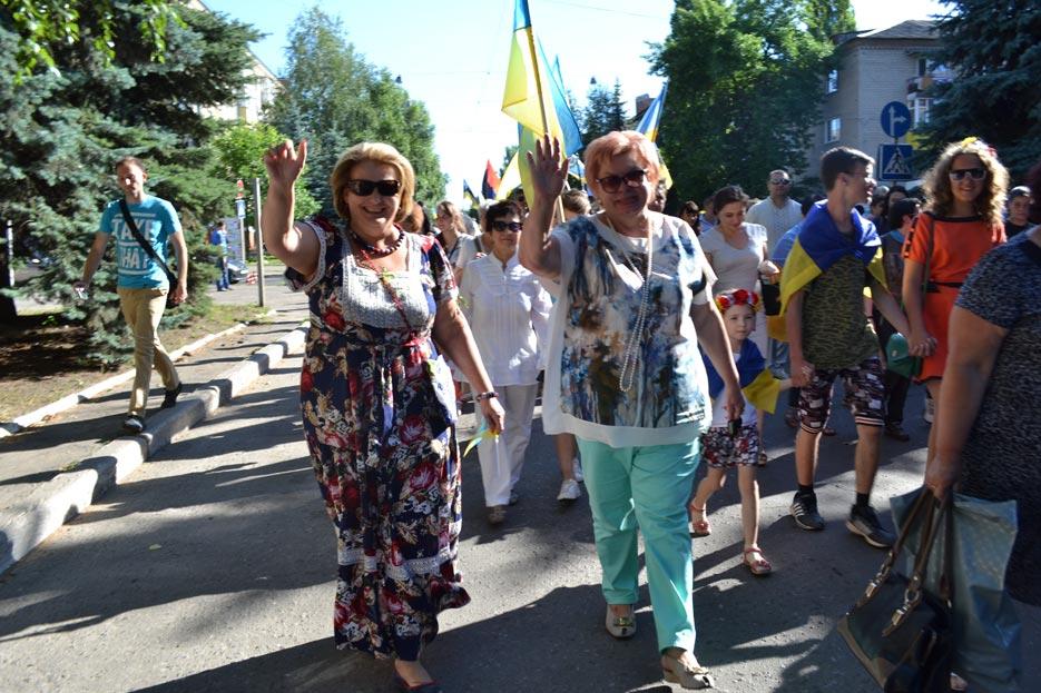Святкування звільнення Краматорська 2016 рік, фото 7