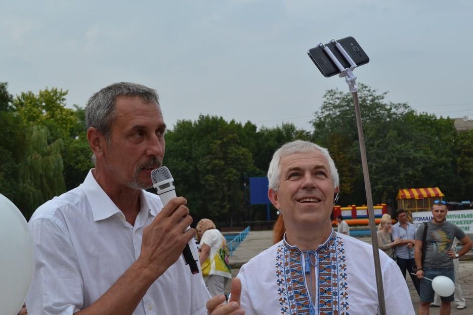 Відкриття мозаїчної композиції у Краматорську, фото 5