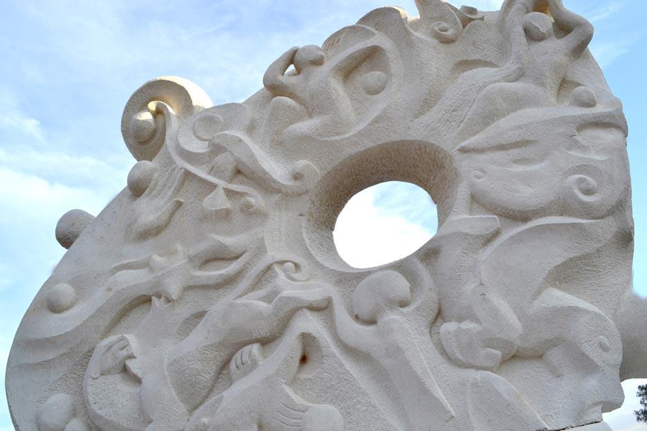 Скульптура Всесвіт Краматорськ фото 3