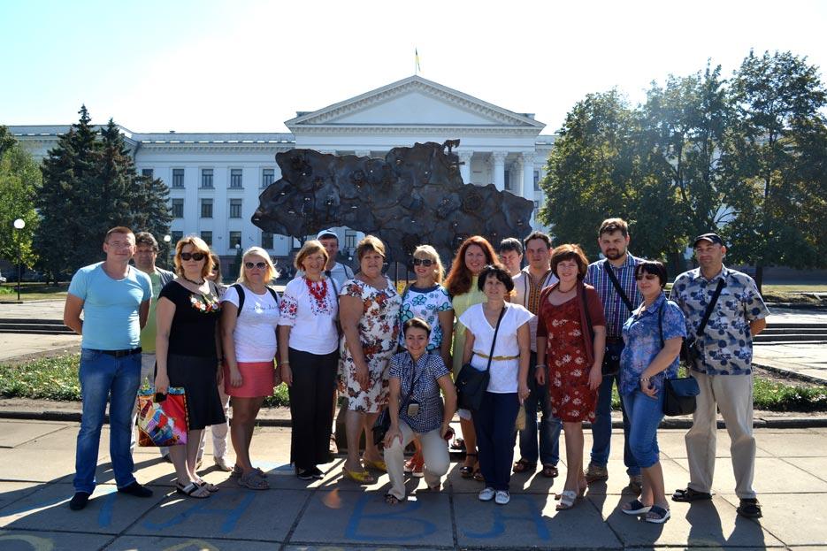 Зустріч з громадськими активістами Вугледару в Краматорську