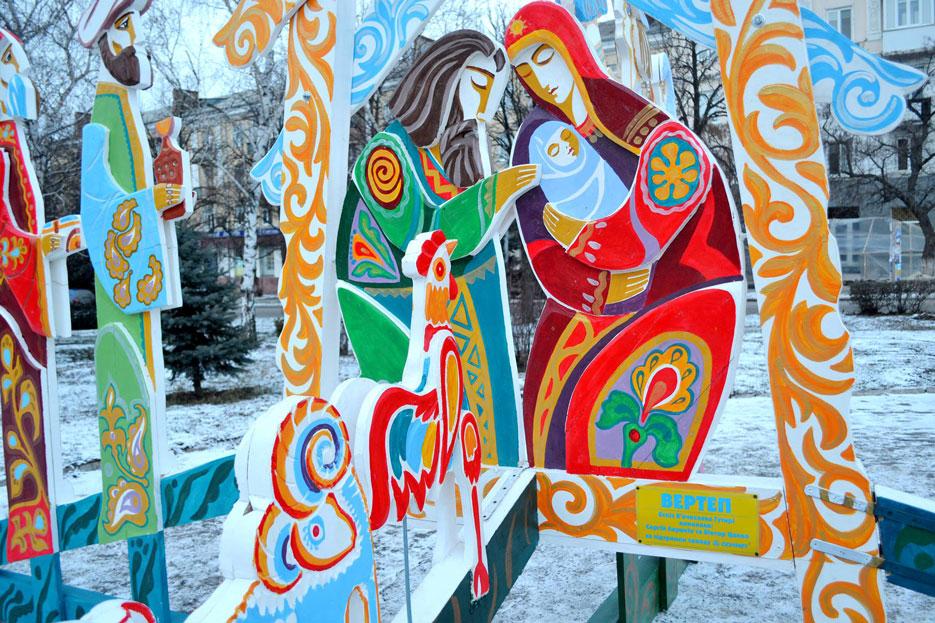 Нова скульптурна композиція в Краматорську