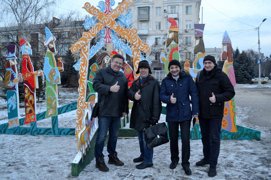Нова скульптурна композиція в Краматорську, фото 2