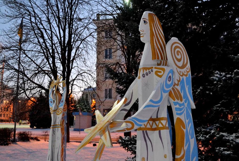 Різдвяні Ангели в Краматорську