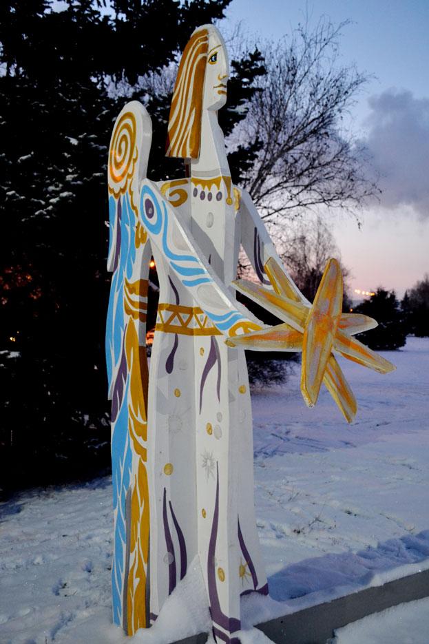 Різдвяні Ангели в Краматорську, фото 1