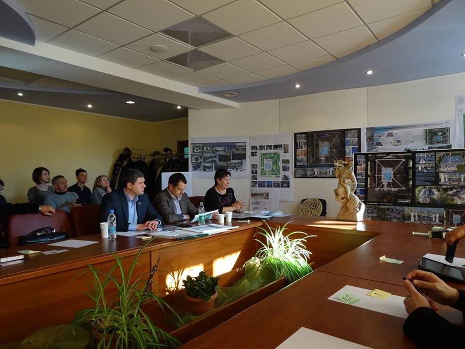 Робота комісії ідведення підсумків Конкурсу на розробку кращого архітектурно-планувального рішення «Парку сучасної скульптури» у Сквері Профспілок, фото 2