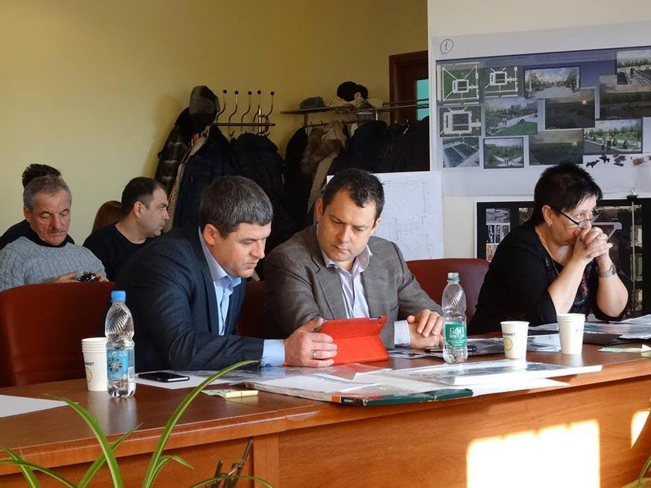Робота комісії ідведення підсумків Конкурсу на розробку кращого архітектурно-планувального рішення «Парку сучасної скульптури» у Сквері Профспілок, фото 3