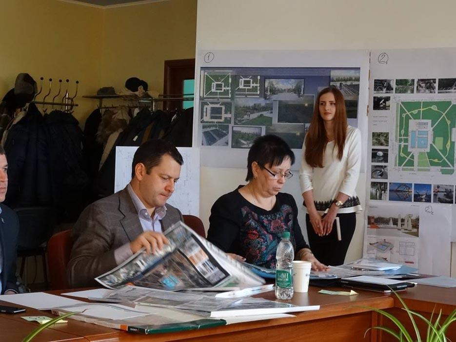 Робота комісії ідведення підсумків Конкурсу на розробку кращого архітектурно-планувального рішення «Парку сучасної скульптури» у Сквері Профспілок, фото 4
